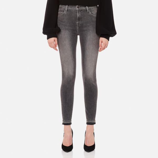 J Brand Women s Alana High Rise Crop Skinny Jeans - Earl Grey - Free ... 72a35a7bfe