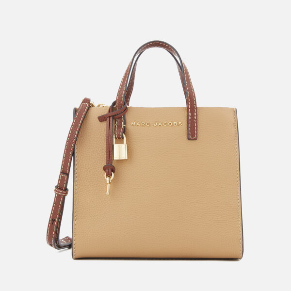 Marc Jacobs Women's Mini Grind Tote Bag - Natural/Multi