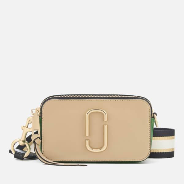 Marc Jacobs Women's Snapshot Cross Body Bag - Sandcastle/Multi