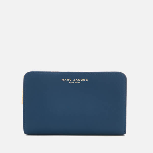 Marc Jacobs Women's Compact Wallet - Vintage Blue