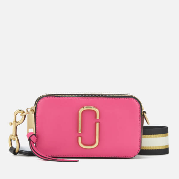 Marc Jacobs Women s Snapshot Cross Body Bag - Tulip Pink Multi  Image 1 6b90ea8baee93