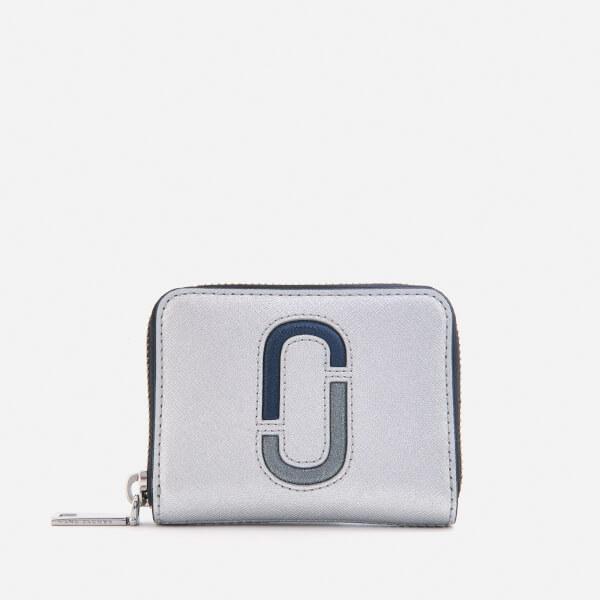 Marc Jacobs Women's Zip Card Case - Silver/Multi