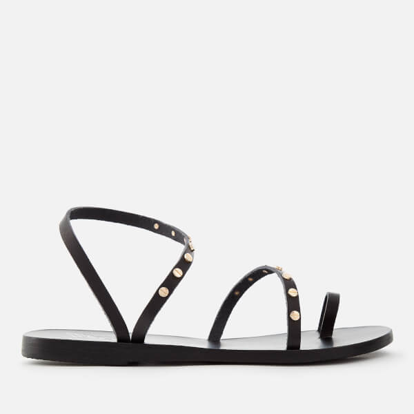 Ancient Greek Sandals Black Apli Eleftheria Nails Sandals 09EEHnU1