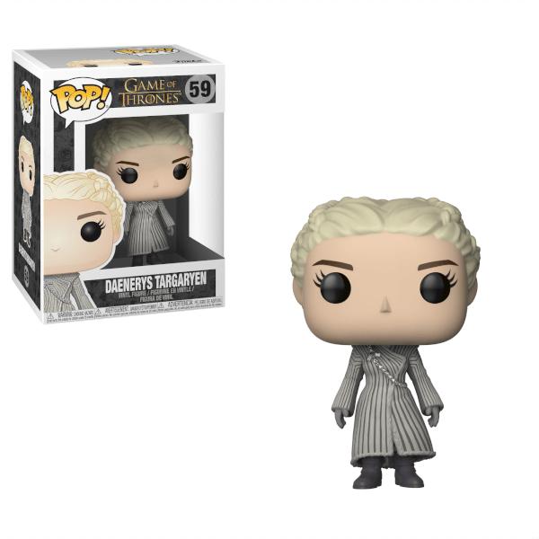 Game Of Thrones Daenerys White Coat Pop Vinyl Figure