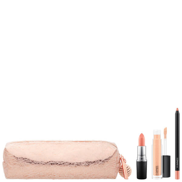 MAC Snow Ball Lip Bag in 'Nude'