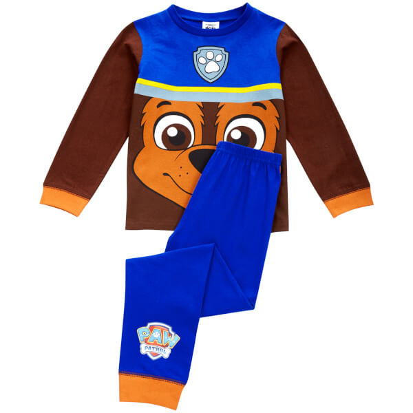 Paw Patrol Boys' Chase Novelty Pyjamas - Blue