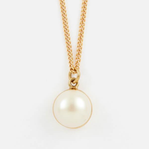 Cornelia Webb Women's Pearled Single Necklace - Gold