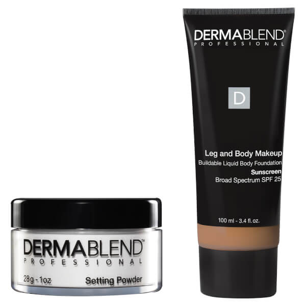 Dermablend Tattoo Coverage Set - 40W Med Golden