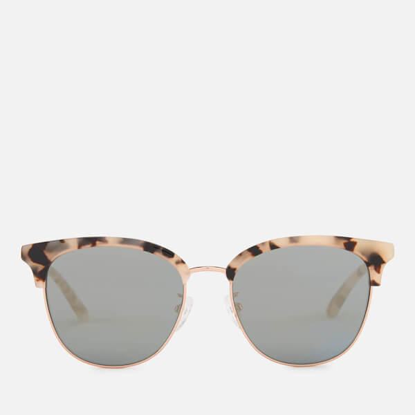 031b0bb831d8c McQ Alexander McQueen Women s Rimless Base Sunglasses - Avana Avana Gold   Image 1