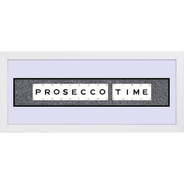 Playing Card Co 'Prosecco Time' Framed Vintage Style Playing Cards - 66x 25cm