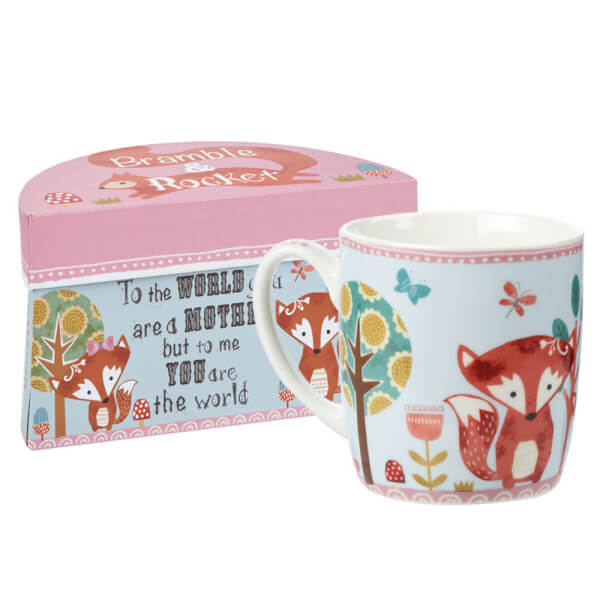 Bramble and Rocket Mother Boxed Mug