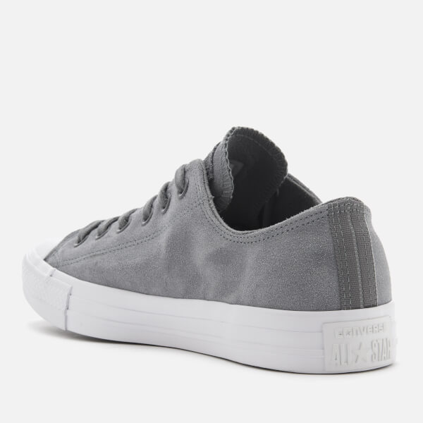 0333757a7ecb Converse Men s Chuck Taylor All Star Ox Trainers - Cool Grey Cool Grey White