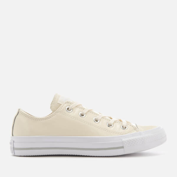 Converse Women's Chuck Taylor All Star Ox Trainers - Egret/Egret/White