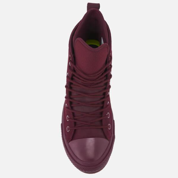 8eb96e765a4 Converse Men s Chuck Taylor All Star Waterproof Boots - Dark Sangria Dark  Sangria Gum