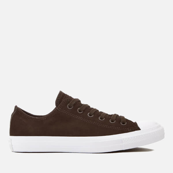Converse Men's Chuck Taylor All Star Ox Trainers - Dark Chocolate/Dark Chocolate