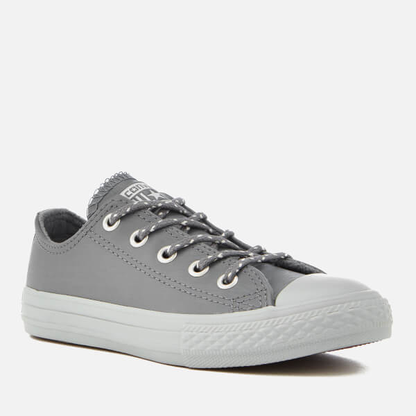 Converse Kids  Chuck Taylor All Star Ox Trainers - Cool Grey Pure Platinum  773b357f0
