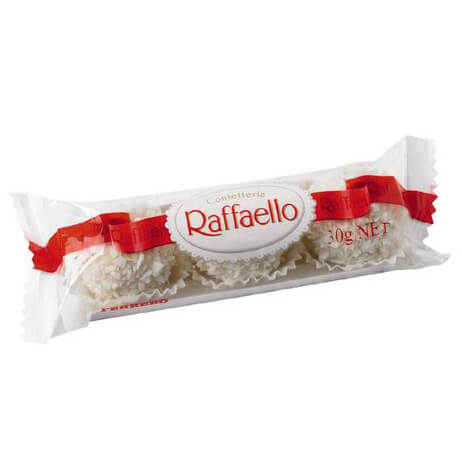 Raffaello 3 Pack Chocolate