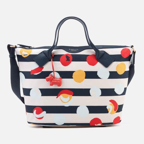 Radley Women's On The Dot Medium Ziptop Multiway Bag - Petrol