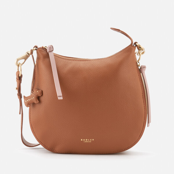 2dc11436e2 Radley Women s Pudding Lane Large Ziptop Cross Body Bag - Indus Tan  Image 1