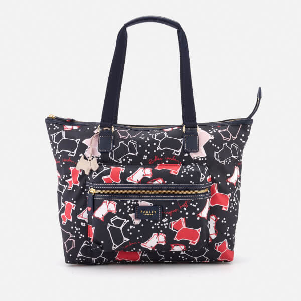 Radley Women's Speckle Dog Large Work Tote Bag - Ink
