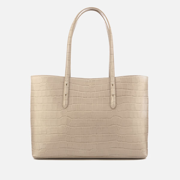 Aspinal of London Women's Regent Tote Bag - Soft Taupe