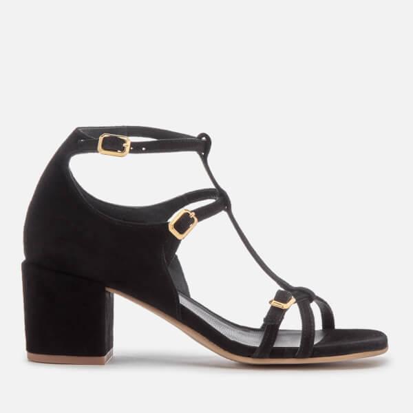 Hudson London Women's Freja Suede Heeled Sandals - Black