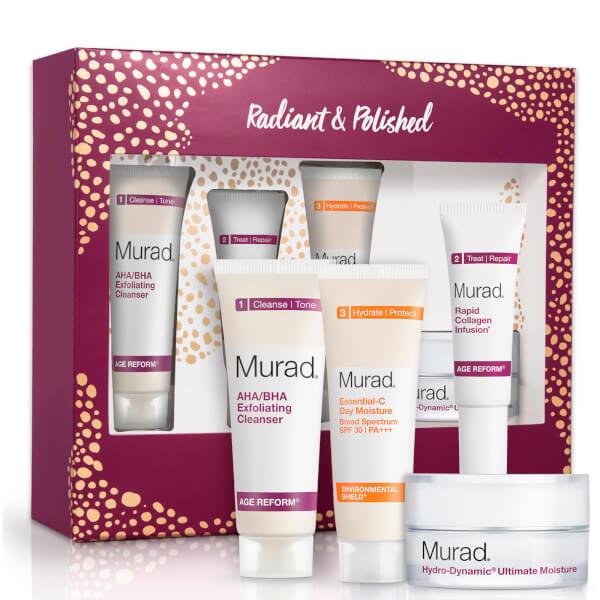 Murad Radiant and Polished Holiday Set (Worth $81)