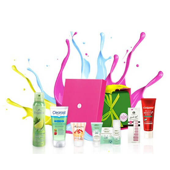 GLOSSYBOX Young Beauty August 2012