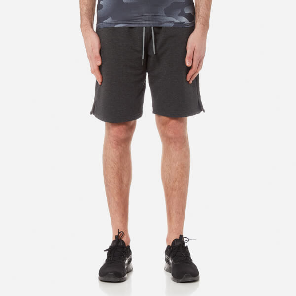 Superdry Sport Men s Gym Training Shorts - Dark Grey Mens Clothing ... ee945659c7fd
