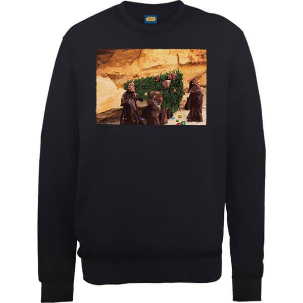 Star Wars Jawas Christmas Tree Black Christmas Sweatshirt