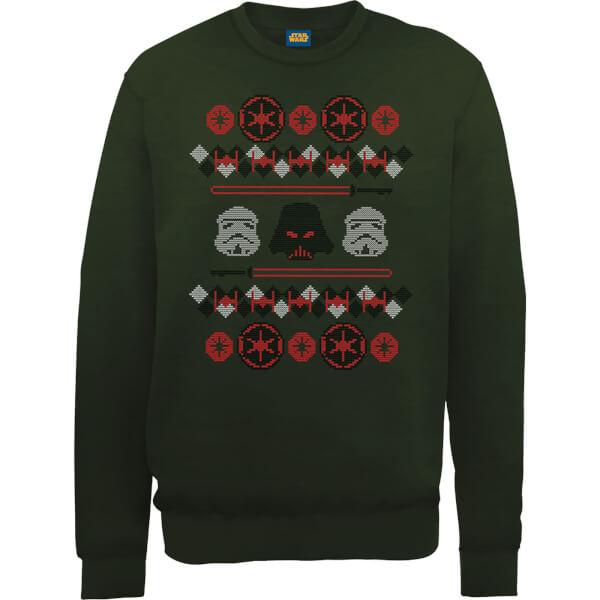 Star Wars Empire Knit Green Christmas Sweatshirt