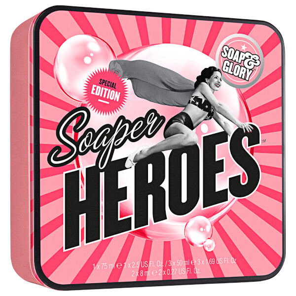 Soap and Glory Special Edition Soaper Heroes Set (Worth $16)