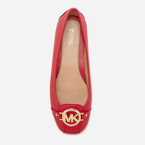 f648dda2305 MICHAEL MICHAEL KORS Women s Fulton Moc Flats - Bright Red  Image 3