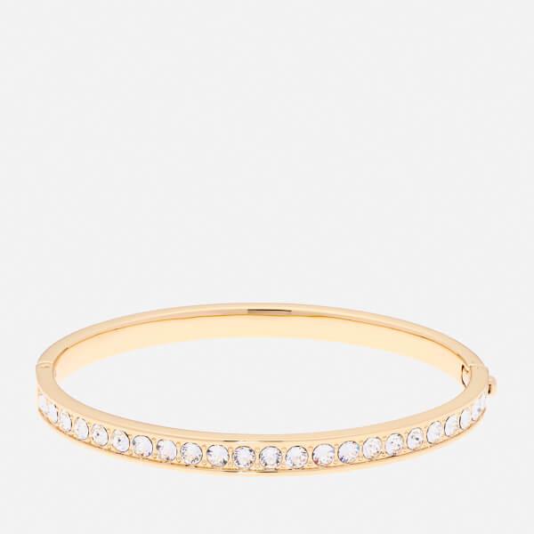 0d4762537 Ted Baker Women's Clemara Hinge Swarovski Crystal Bangle - Gold/Crystal -  Rose Gold: