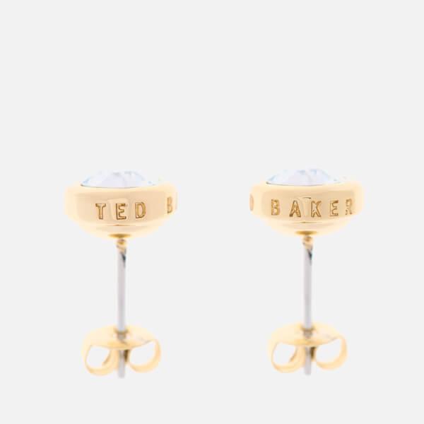 04fabf545 Ted Baker Women's Sinaa Swarovski Crystal Stud Earrings - Gold/Crystal - Rose  Gold: