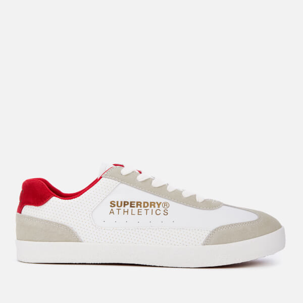 Superdry Men's Superdry Athletics Trainers - White/Red