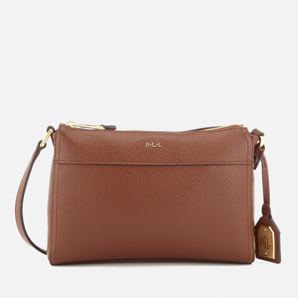 Lauren Ralph Lauren Women's Milford Brooklyn Cross Body Bag - Bourbon/Palomina