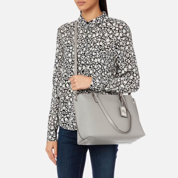 26ef7534de Lauren Ralph Lauren Women s Anfield Claire Shopper Bag - Light Grey  Image 3