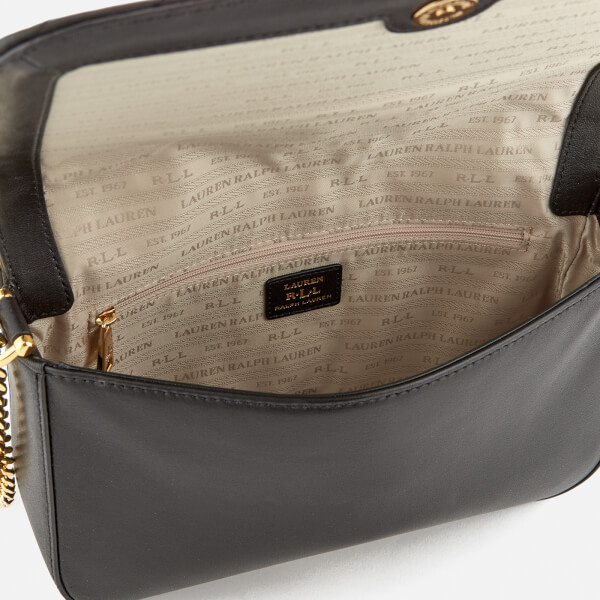 d97d213bc8 Lauren Ralph Lauren Women s Carrington Brenda Shoulder Bag - Black  Image 5