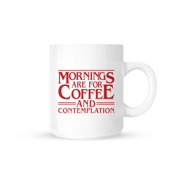 Coffee and Contemplation Mug