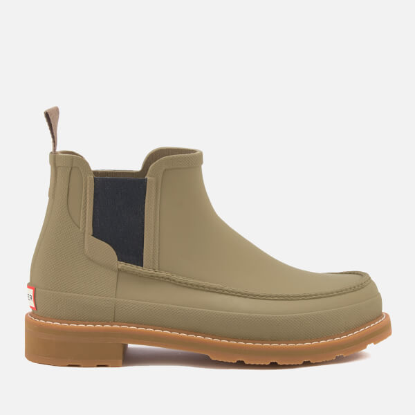 Hunter Men's Lightweight Moc Toe Chelsea Boots - Salvia