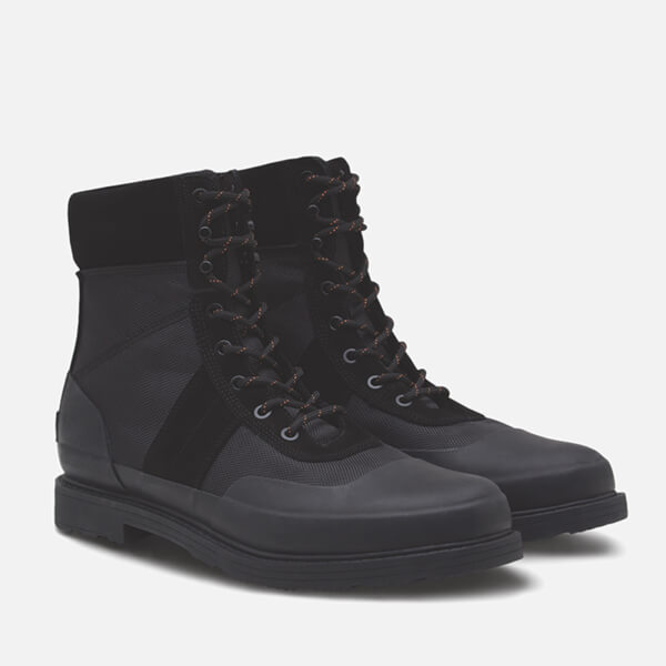 Hunter Men's Original Leather Commando Boots