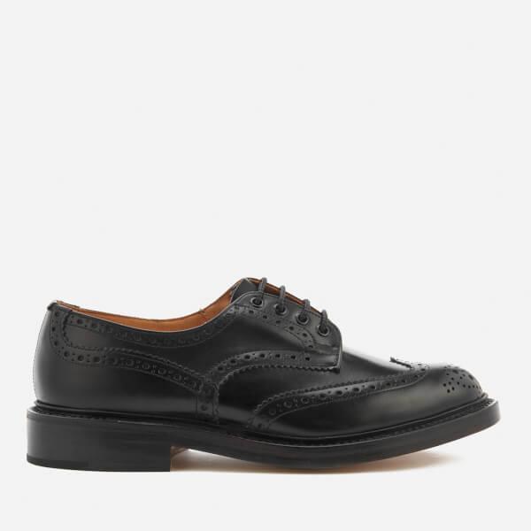 Tricker's Men's Bourton Leather Brogues - Black