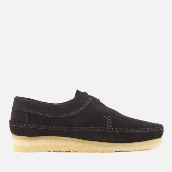 Clarks Originals Men's Weaver Suede Shoes - Black