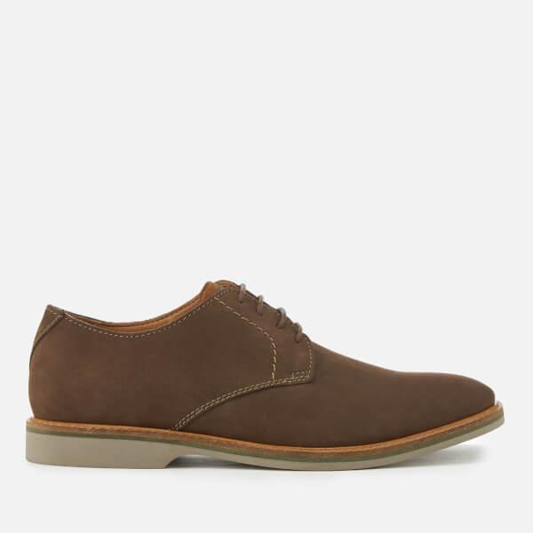 Clarks Men's Atticus Lace Nubuck Derby Shoes - Taupe