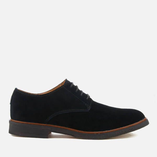 Clarks Men's Clarkdale Moon Suede Derby Shoes - Black