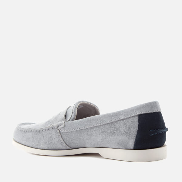 1217c6489 Lacoste Men s Navire Penny 216 Suede Loafers - Grey  Image 4