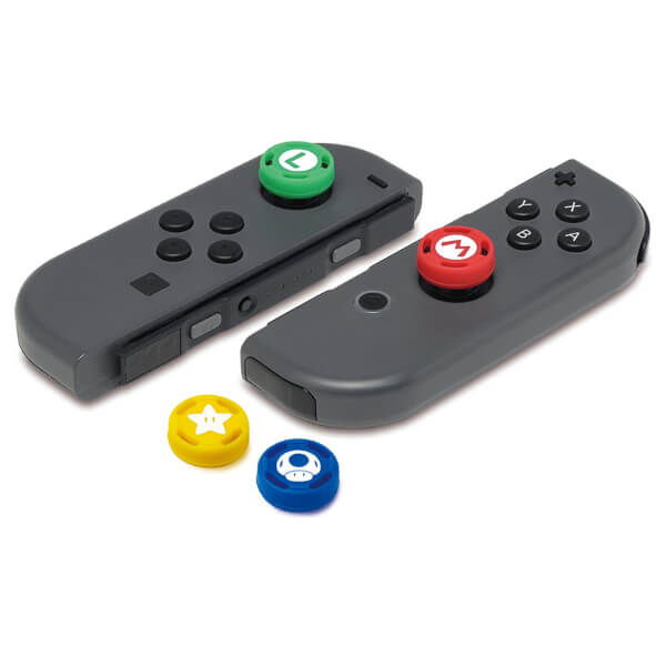 Nintendo Switch Analog Stick Caps - Super Mario