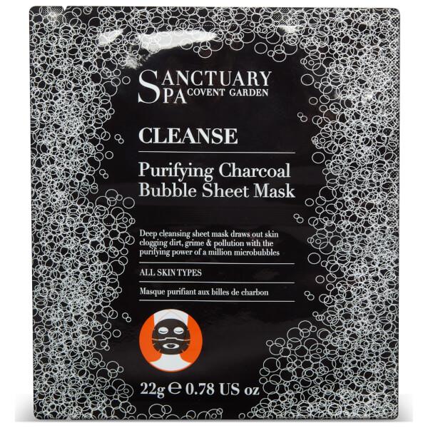 Sanctuary Spa Charcoal Bubble Sheet Mask