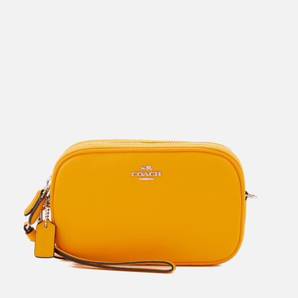 126d9cb602 Coach Women s Cross Body Bag Clutch - Yellow - Free UK Delivery over £50